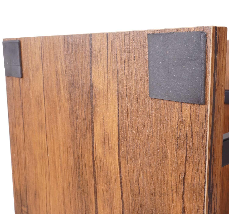 Bücherregal HWC-A27 Detailbild Bodenschoner