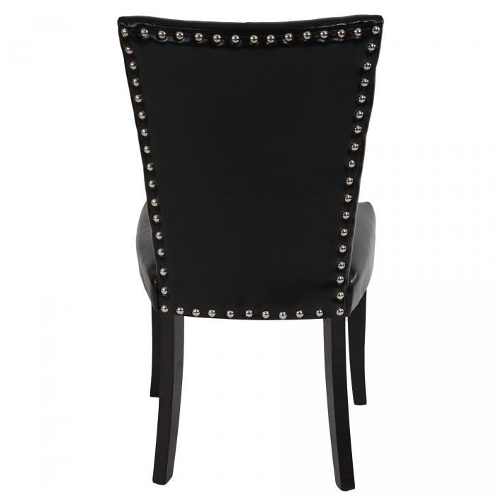 6x esszimmerstuhl chesterfield stuhl lehnstuhl nieten - Stuhl mit nieten ...