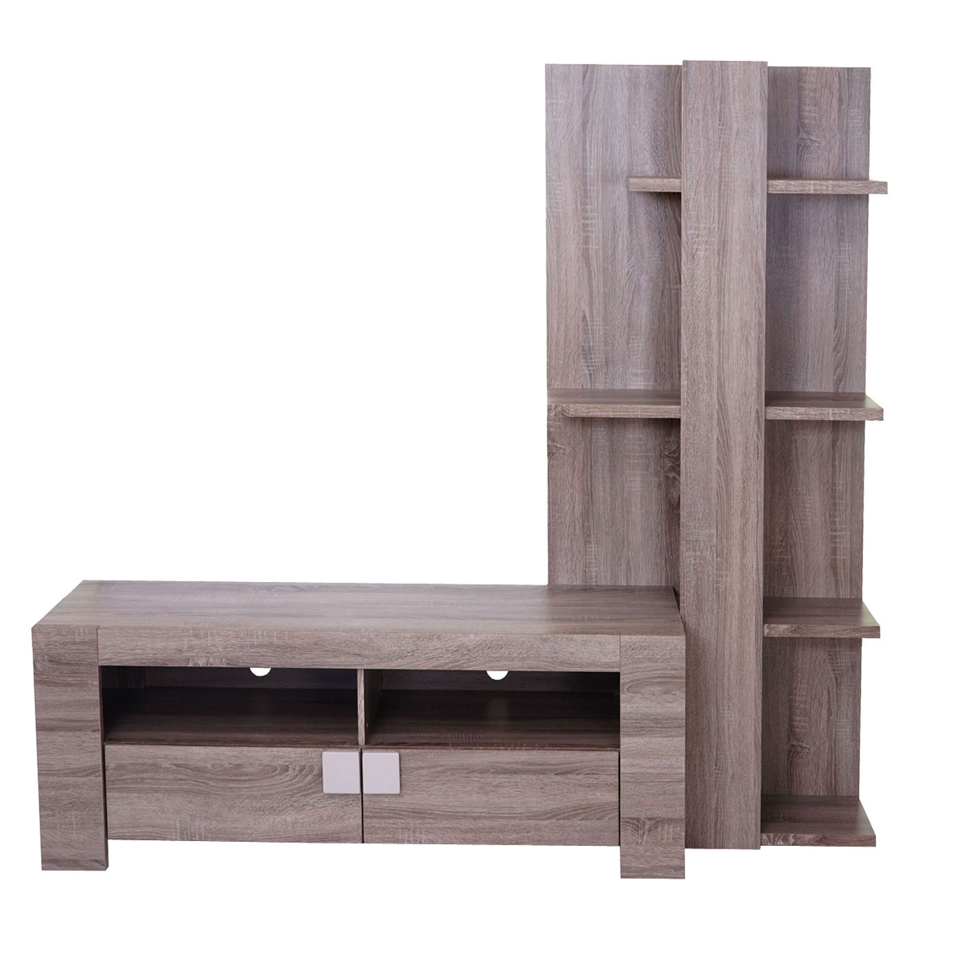 wohnwand lisburn wandregal raumteiler schrankwand 3d. Black Bedroom Furniture Sets. Home Design Ideas