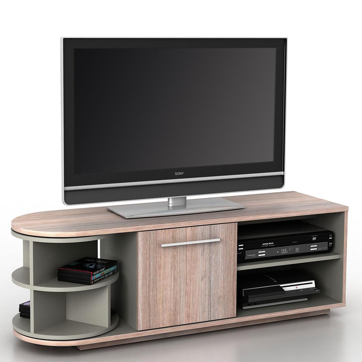 Mobile porta tv tavolino salotto arau t729 mdf 40x120x45cm for Salotto con tv