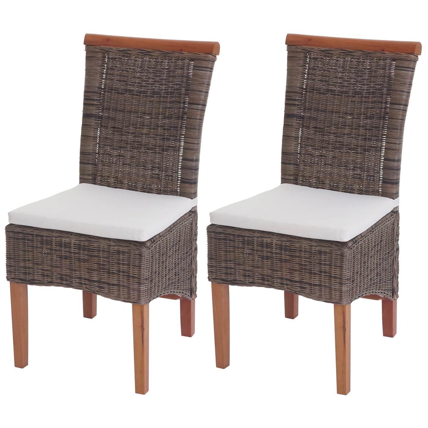 Queste Sedie Sono Realizzate In Materiale Naturale; Per Questa Ragione  #895D42 1400 1400 Cuscini Per Sedie Sala Da Pranzo