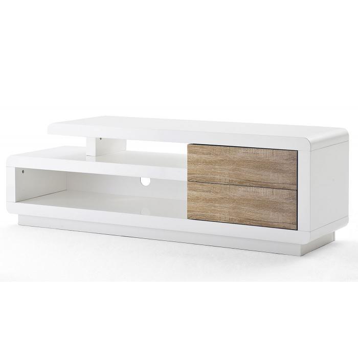 mca tv rack cosima lowboard fernsehtisch mit schubladen. Black Bedroom Furniture Sets. Home Design Ideas