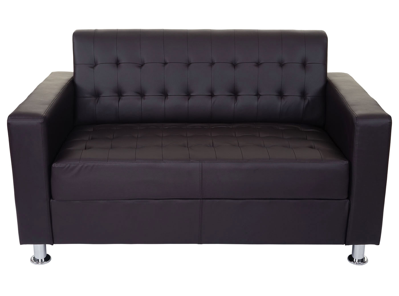 3 2 1 sofagarnitur kunda couch loungesofa kunstleder metall f e ebay. Black Bedroom Furniture Sets. Home Design Ideas