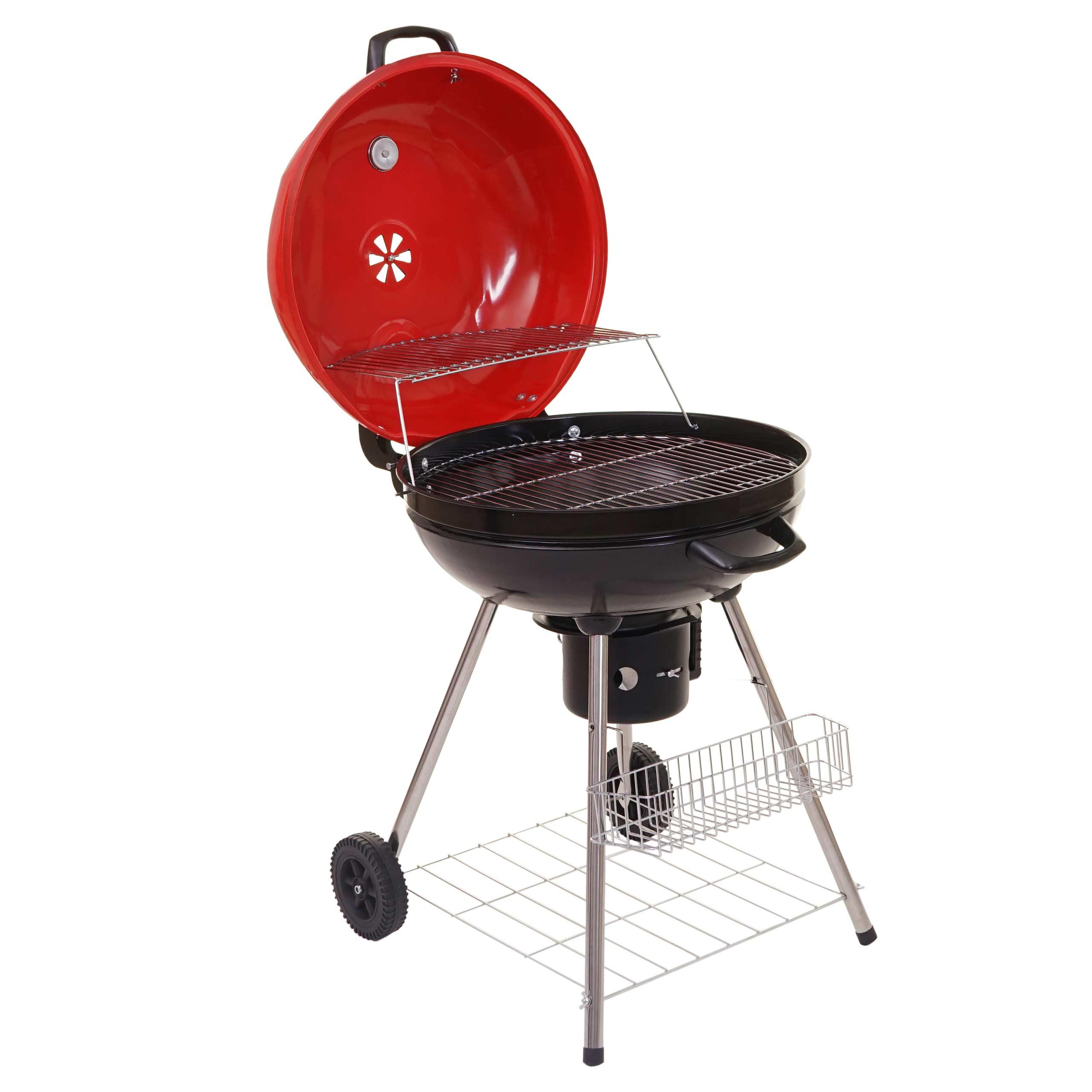 barbecue boule el paso gril charbon de bois surface 54cm bac de cendre ebay. Black Bedroom Furniture Sets. Home Design Ideas