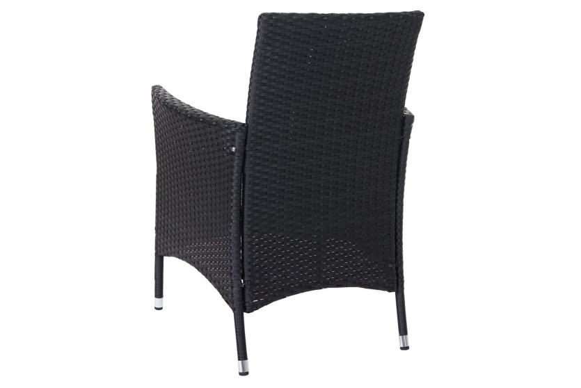 poly rattan garnitur terni garten sitzgruppe tisch 8 sessel alu anthrazit kissen hellgrau. Black Bedroom Furniture Sets. Home Design Ideas