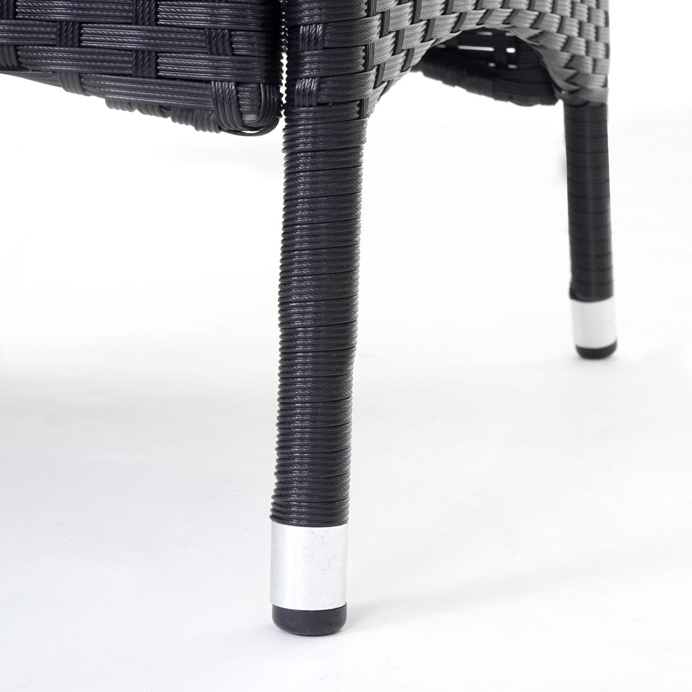 poly rattan garnitur torre garten sitzgruppe tisch 8 sessel alu anthrazit kissen hellgrau. Black Bedroom Furniture Sets. Home Design Ideas
