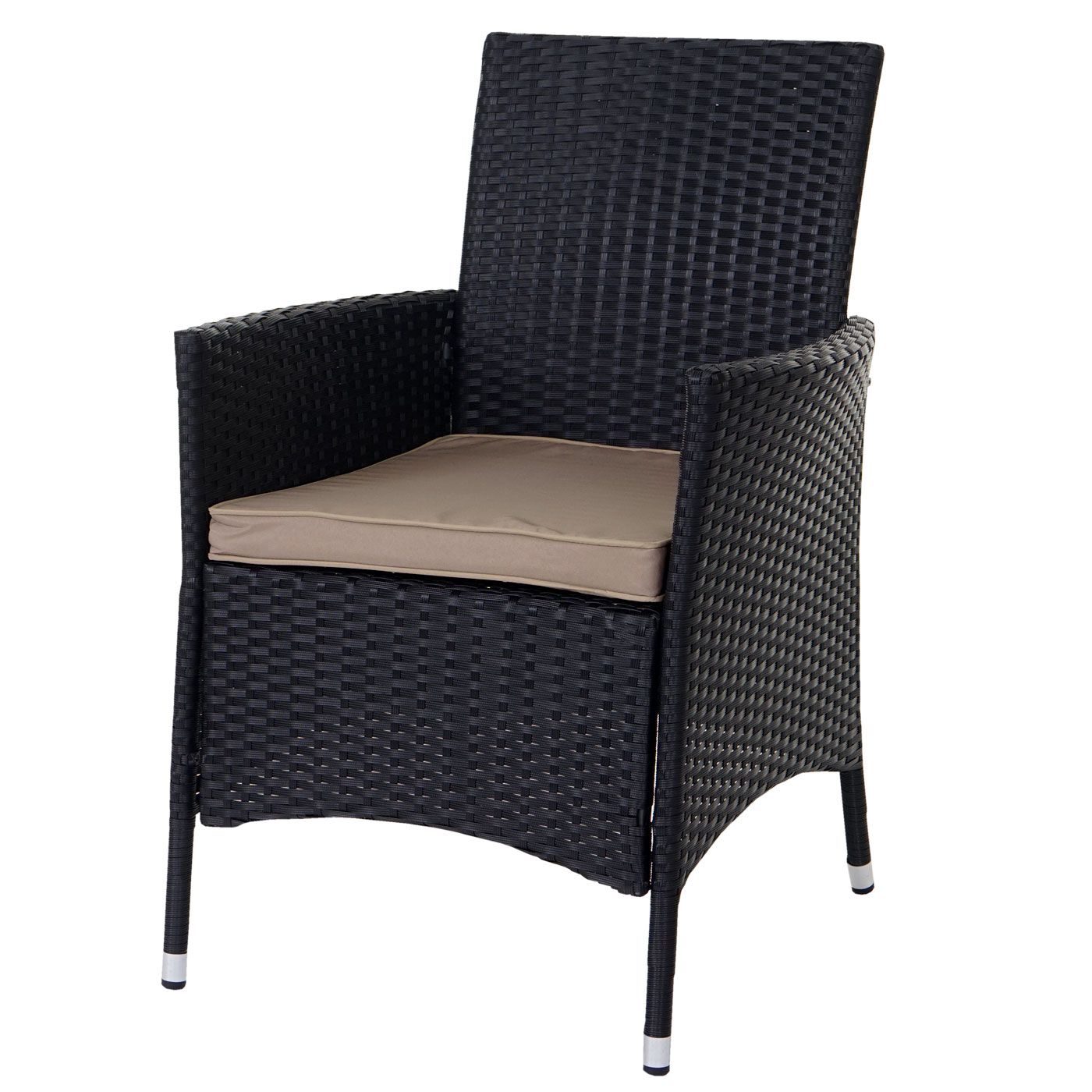 poly rattan garnitur torre garten sitzgruppe tisch 8. Black Bedroom Furniture Sets. Home Design Ideas