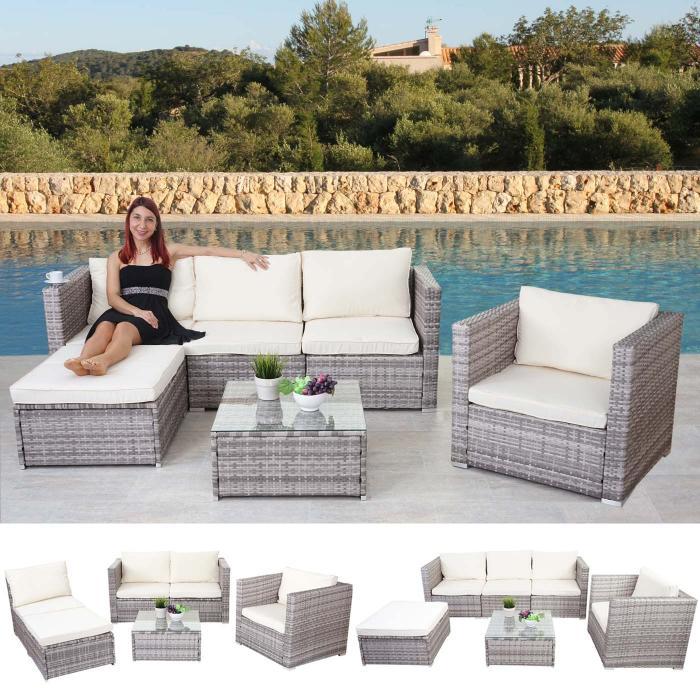 poly rattan garnitur brescia gartengarnitur sitzgruppe. Black Bedroom Furniture Sets. Home Design Ideas
