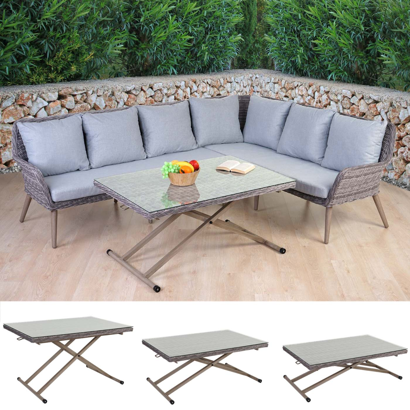 Garten garnituren sofa aluminium garnituren teuer - Lounge garnitur garten ...
