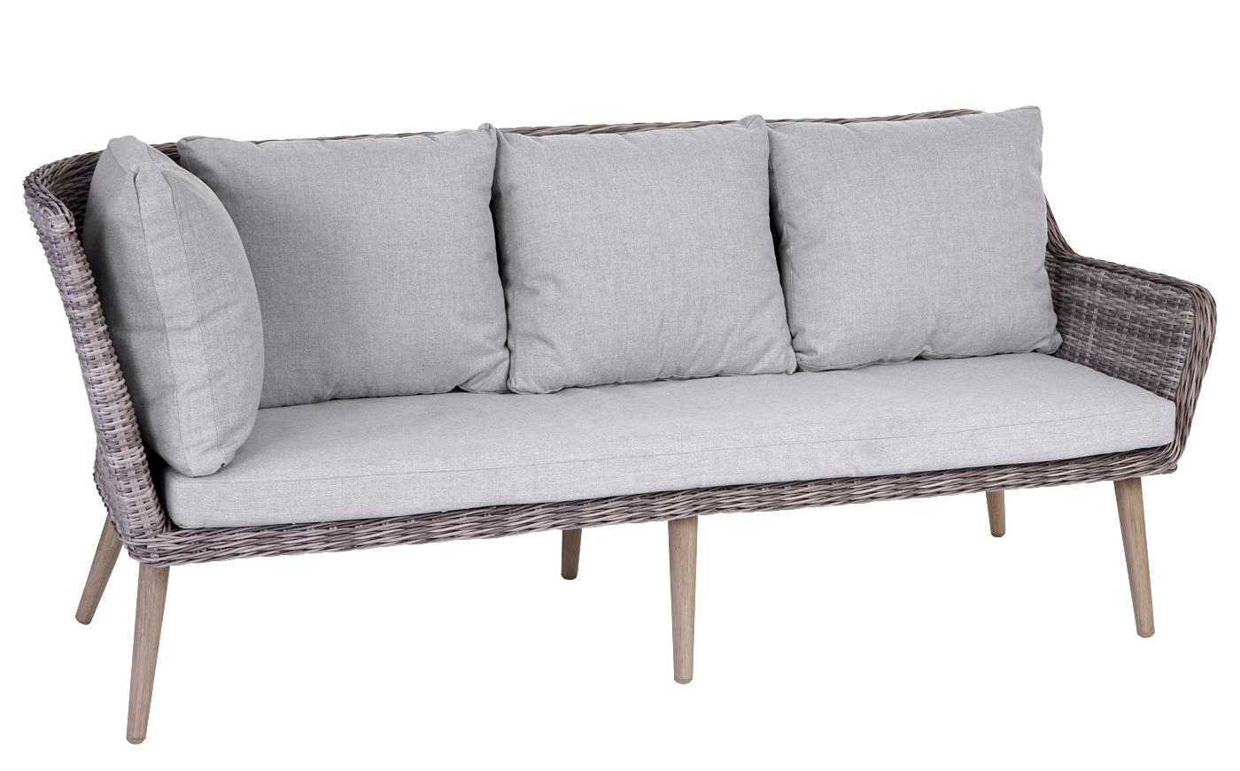 luxus poly rattan garnitur bilbao premium lounge esstisch set alu gestell ebay. Black Bedroom Furniture Sets. Home Design Ideas