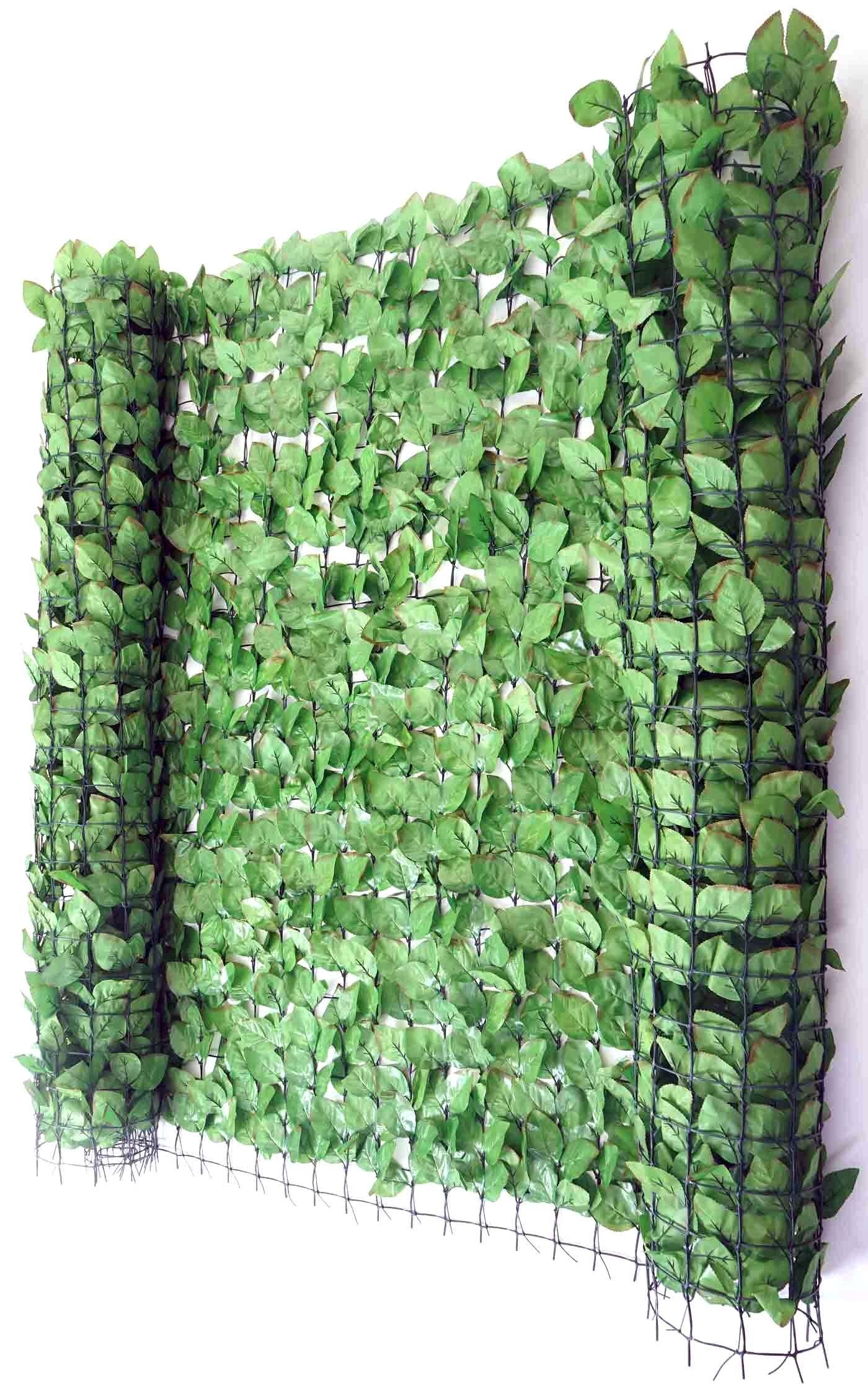 balkonsichtschutz buchenhecke windschutz verkleidung f r terrasse zaun 300x150cm. Black Bedroom Furniture Sets. Home Design Ideas