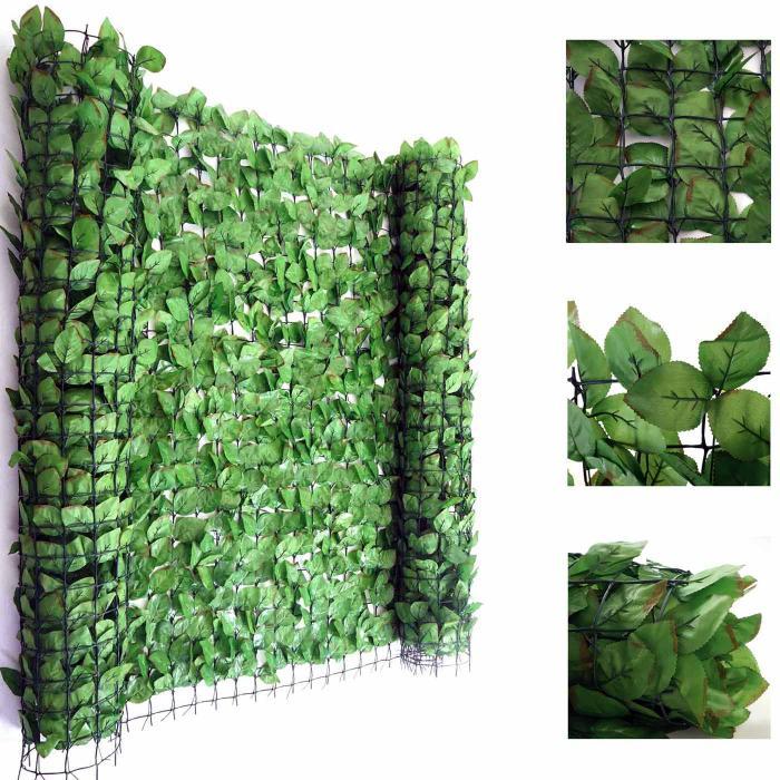balkonsichtschutz buchenhecke windschutz verkleidung f r terrasse zaun 300x100cm. Black Bedroom Furniture Sets. Home Design Ideas
