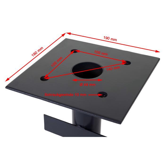 bodenh lse f r luxus ampelschirme hwc a96 bodenanker. Black Bedroom Furniture Sets. Home Design Ideas
