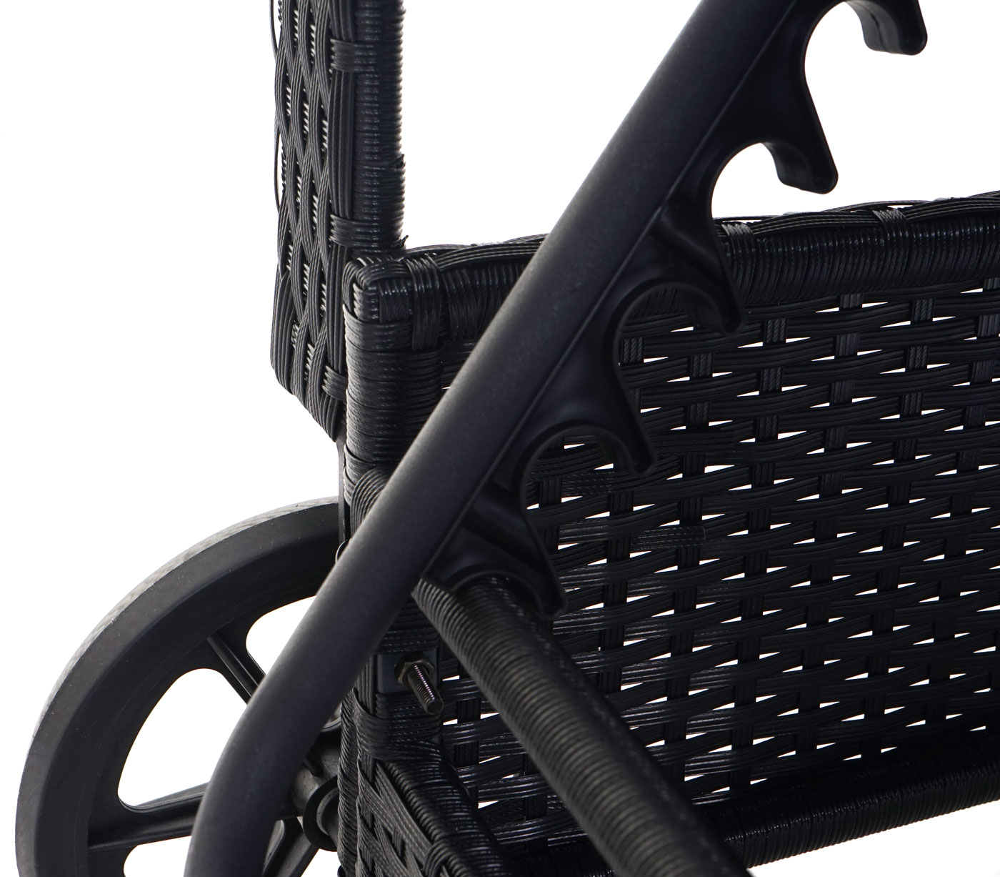 poly rattan sonnenliege cesena relaxliege gartenliege liege alu anthrazit kissen hellgr n. Black Bedroom Furniture Sets. Home Design Ideas