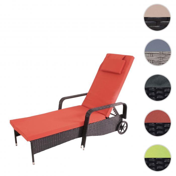 Alu Sonnenliege Gartenliege Sauna Liege 175x65x94 cm Klappliege Relaxliege L24