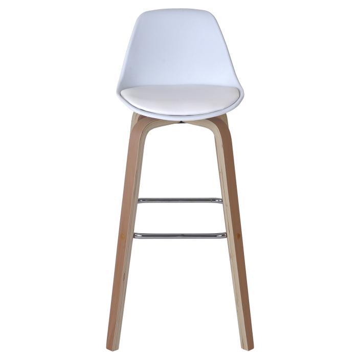 Barstühle Mit Lehne 2x barhocker hwc a89 barstuhl tresenhocker mit lehne kunstleder weiß