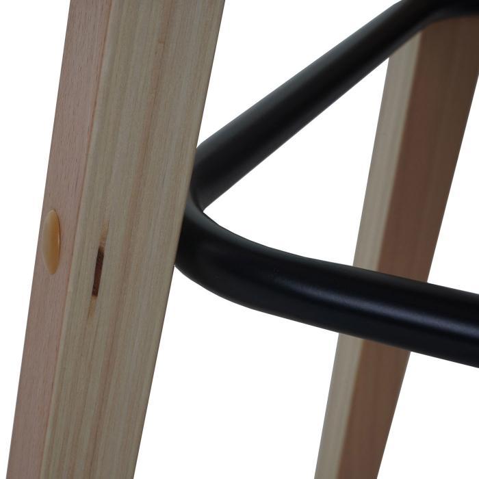 2x barhocker hwc a89 barstuhl tresenhocker mit lehne textil creme grau. Black Bedroom Furniture Sets. Home Design Ideas