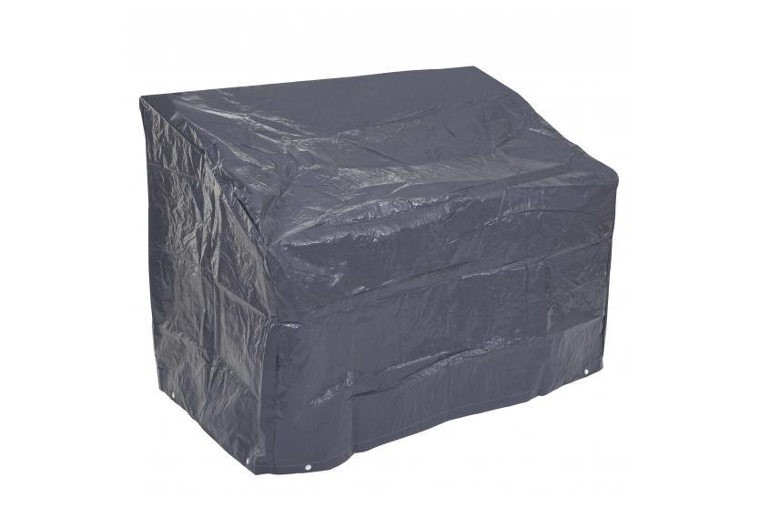 abdeckplane abdeckhaube schutzplane schutzh lle f r gartenbank anthrazit 89 63x120x70cm. Black Bedroom Furniture Sets. Home Design Ideas