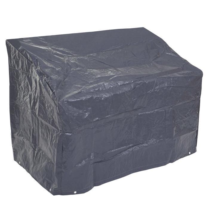abdeckplane abdeckhaube schutzplane schutzh lle f r gartenbank anthrazit 89 63x200x70cm. Black Bedroom Furniture Sets. Home Design Ideas