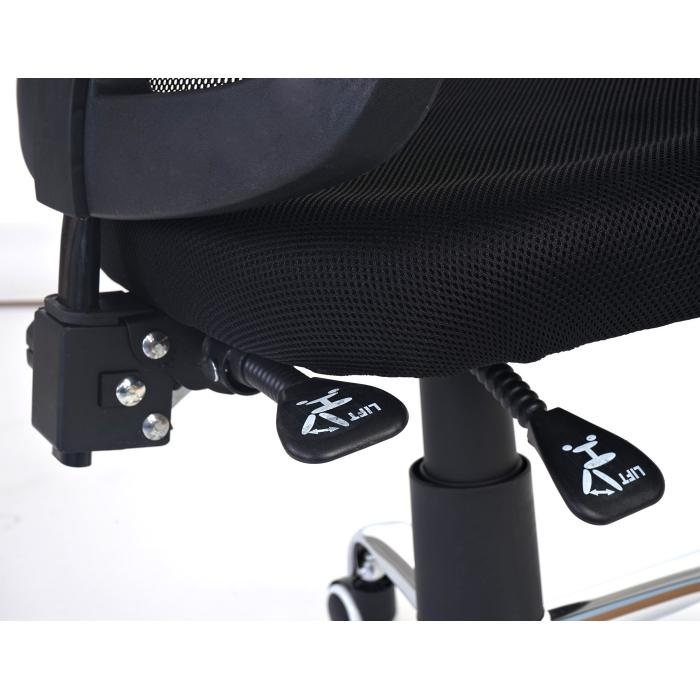 Schreibtischstuhl Drehstuhl Bürostuhl Arendal Kopfstütze Armlehnen Textil