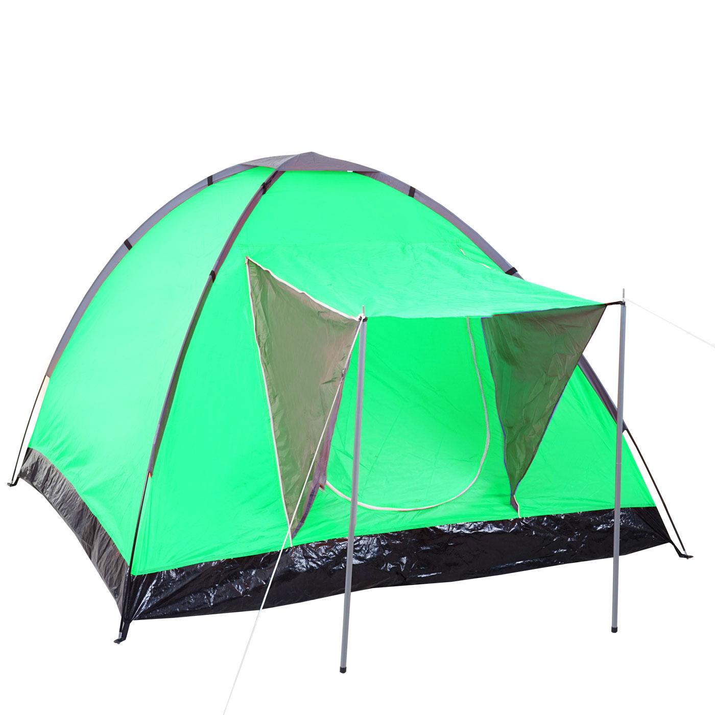 tente de camping loksa 2 personnes bivouac igloo tente pour festival vert ebay. Black Bedroom Furniture Sets. Home Design Ideas