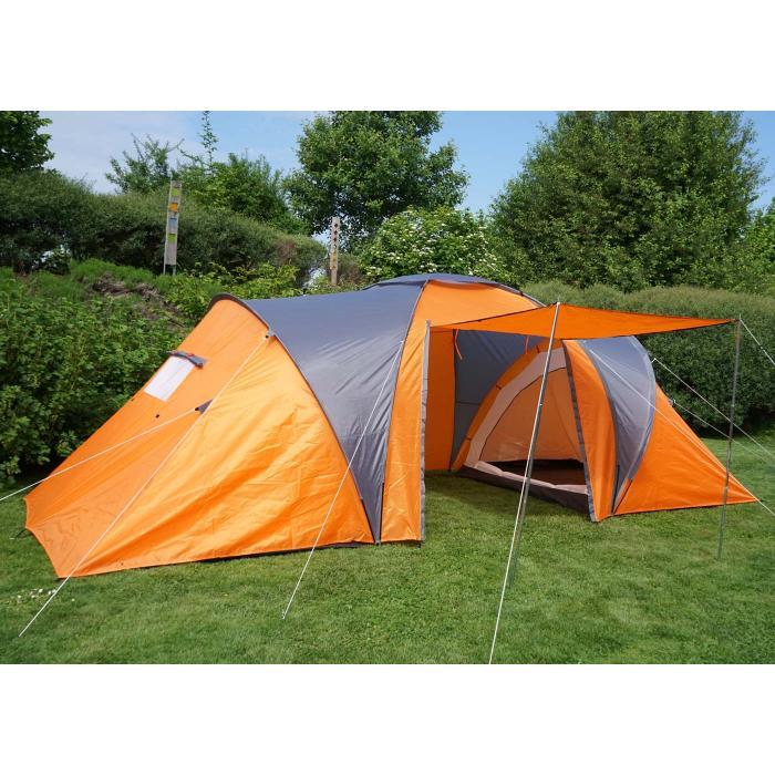 Campingzelt Loksa 6 Mann Zelt Kuppelzelt Igluzelt Festival Zelt 6