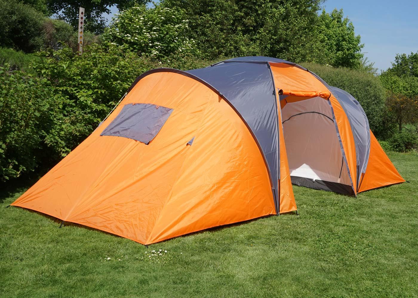 Led Kronleuchter Zelt ~ Campingzelt loksa 6 mann zelt kuppelzelt igluzelt festival zelt 6
