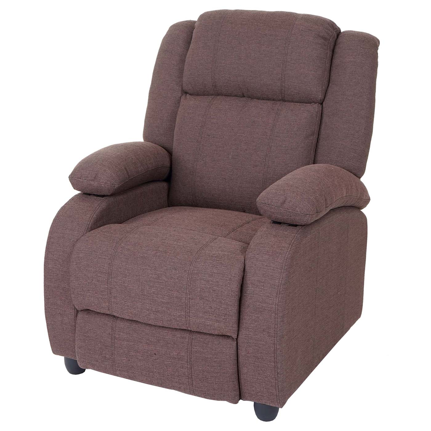 fernsehsessel lincoln relaxsessel liege sessel textil ebay