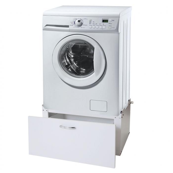 Waschmaschinenunterschrank HWC-E50, Sockel Podest Erhöhung ...
