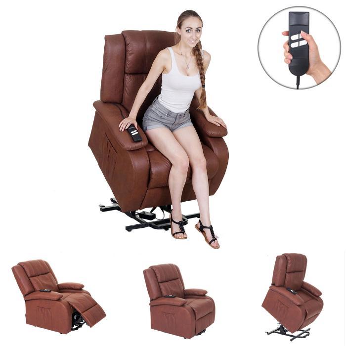Fernsehsessel Lincoln Relaxsessel Sessel 2 Elektromotoren