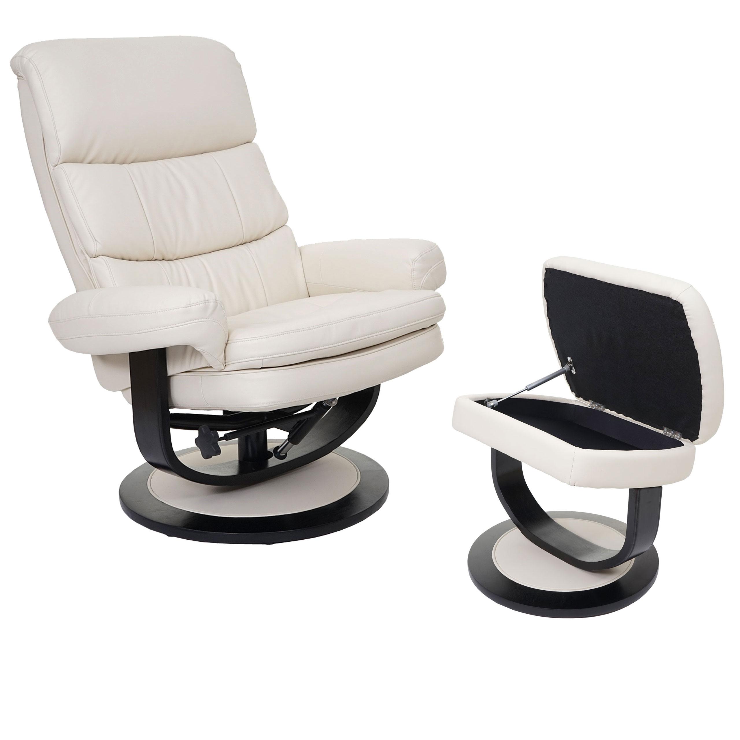 Relaxsessel hwc c16 fernsehsessel tv sessel hocker mit for Ohrensessel verstellbar mit hocker