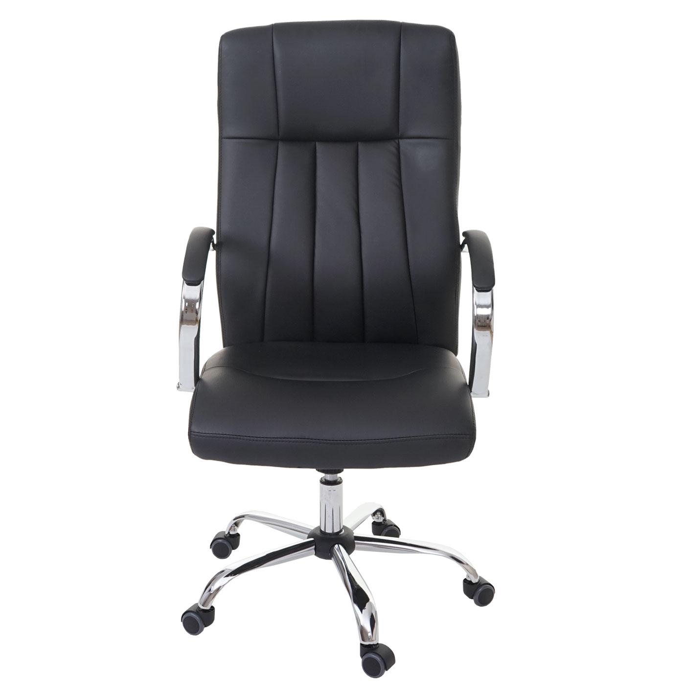 fauteuil de bureau qu bec fauteuil pivotant directorial similicuir noir ebay. Black Bedroom Furniture Sets. Home Design Ideas