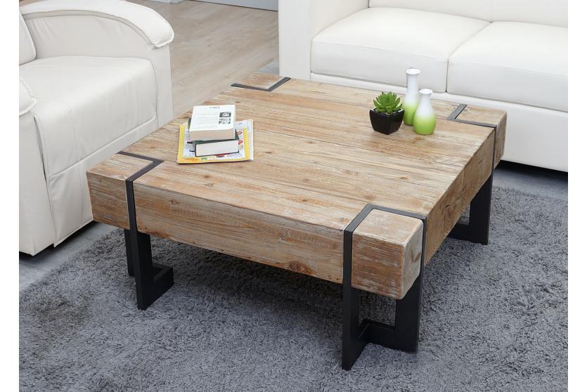 couchtisch hwc a15 wohnzimmertisch tanne holz rustikal massiv 40x90x90cm. Black Bedroom Furniture Sets. Home Design Ideas