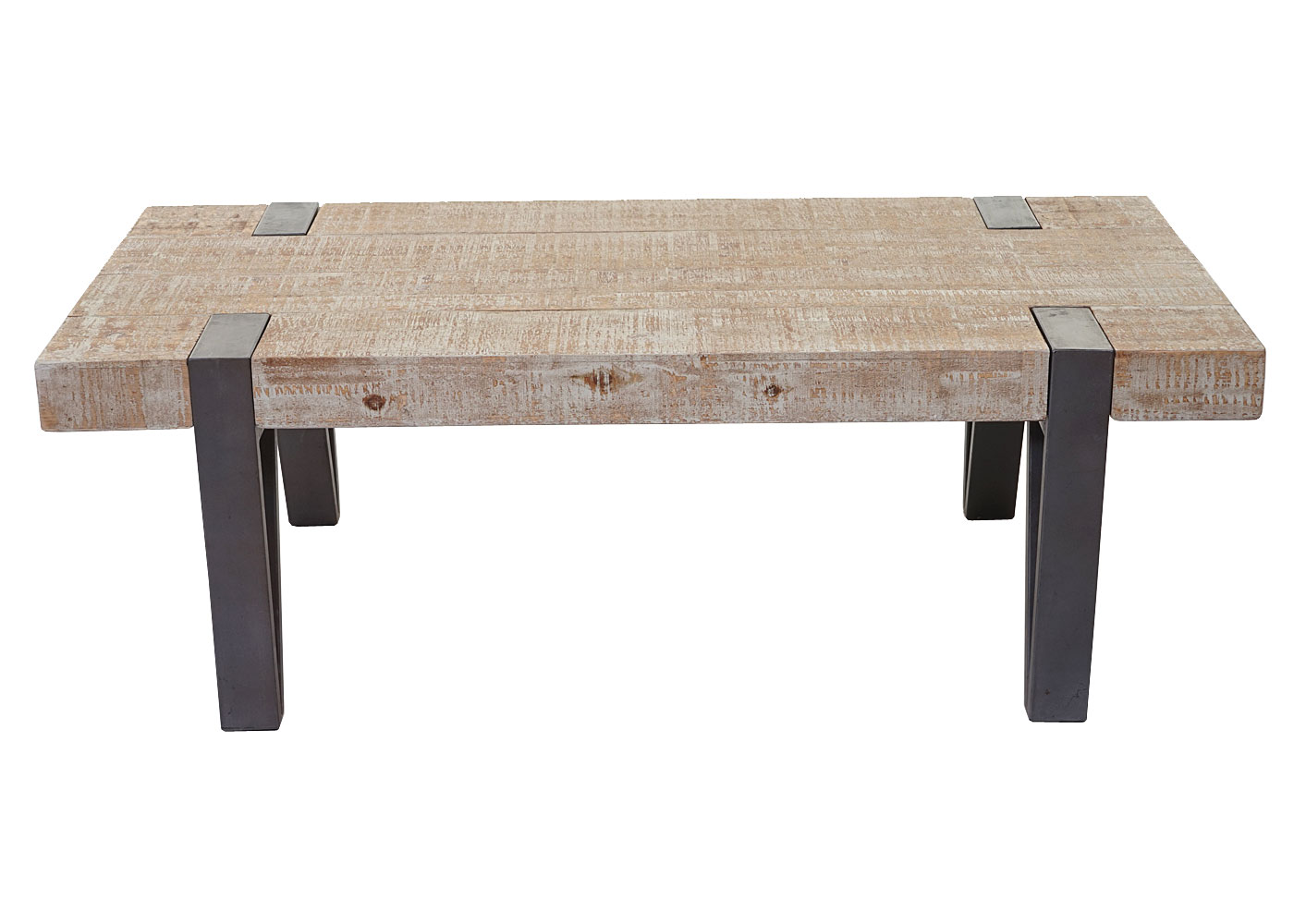 table basse de salon hwc a15b sapin bois massif rustique 40x120x60cm ebay. Black Bedroom Furniture Sets. Home Design Ideas