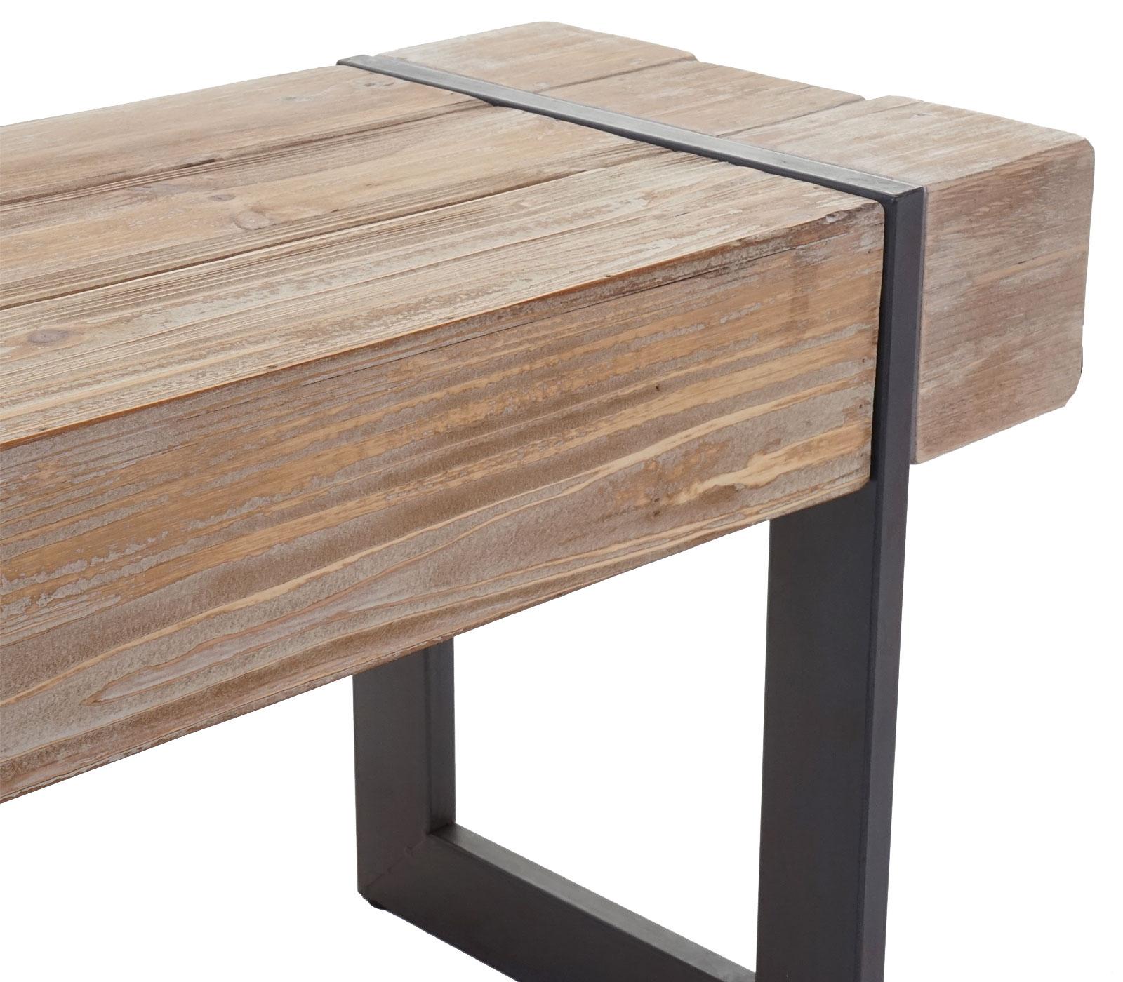 sitzbank mcw a15 esszimmerbank bank tanne holz rustikal massiv 180cm 4057651186795 ebay. Black Bedroom Furniture Sets. Home Design Ideas