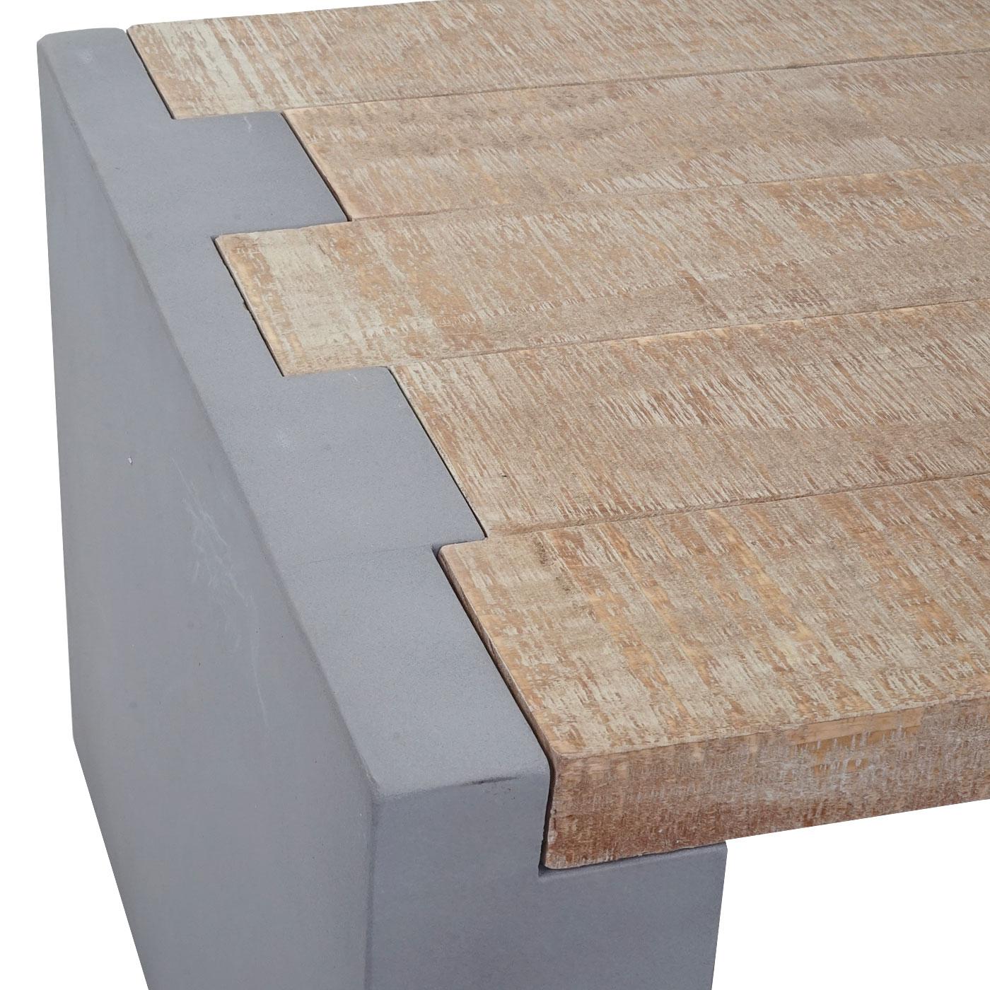 Couchtisch HWC-A15, Wohnzimmertisch, Beton-Optik Tanne Holz rustikal ...