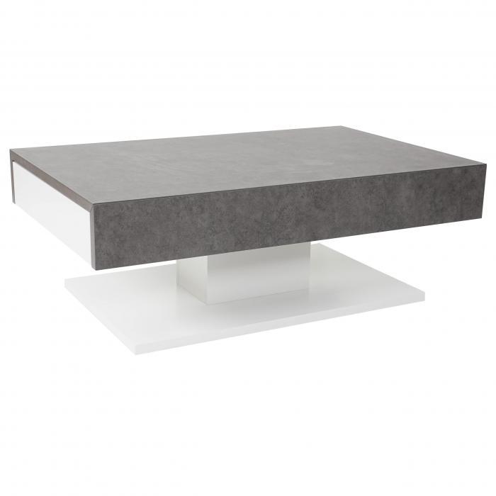 Awesome beton wohnzimmertisch photos design ideas 2018 for Couchtisch 80x80 glas