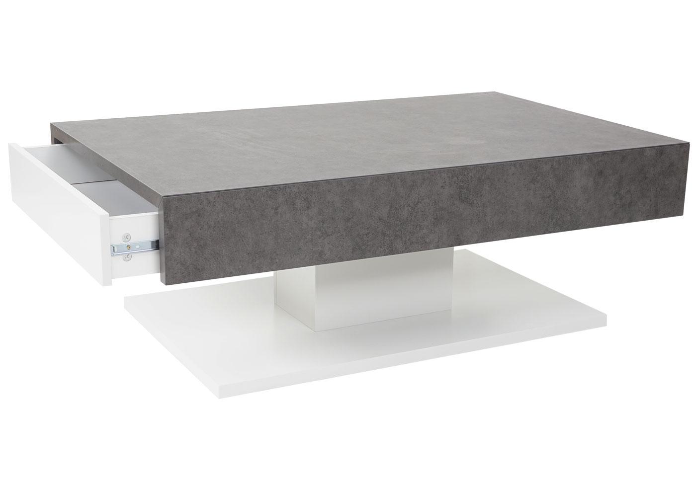 mca couchtisch hwc a26 wohnzimmertisch beton optik 56989 4057651171203 ebay. Black Bedroom Furniture Sets. Home Design Ideas