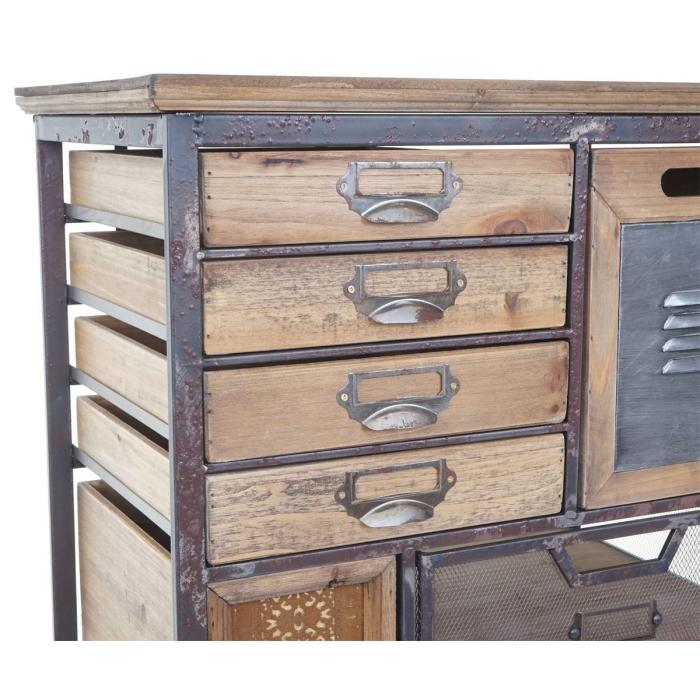 Apotheker Schrank Hwc A43 Kommode Tanne Holz Massiv Vintage Shabby