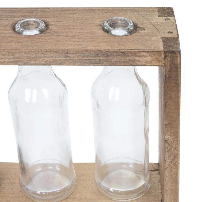 holz vase regal hwc a43 blumenvasen dekoflaschen glas. Black Bedroom Furniture Sets. Home Design Ideas