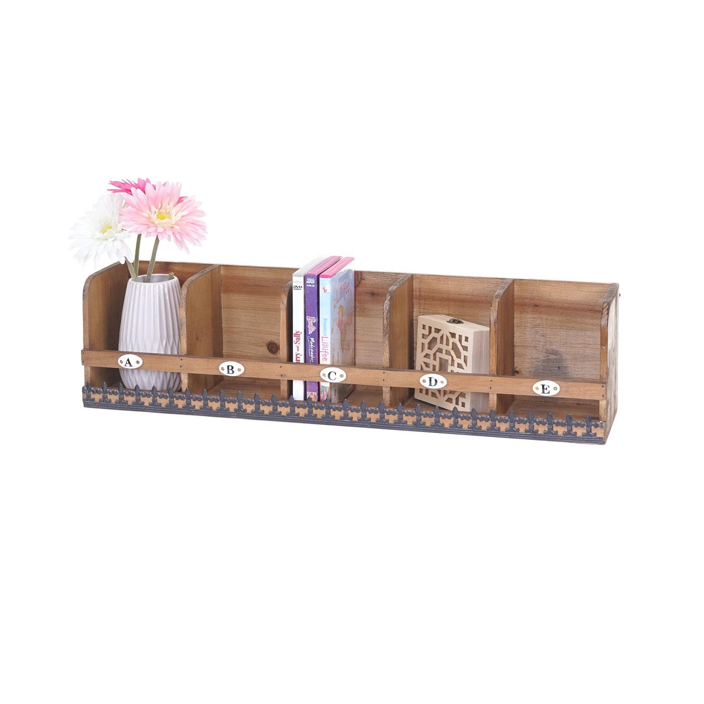 wandregal hwc a43 h ngeregal regal tanne holz massiv. Black Bedroom Furniture Sets. Home Design Ideas