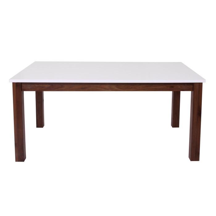 Esstisch hwc b51 esszimmertisch tisch ausziehbar for Esstisch walnuss ausziehbar