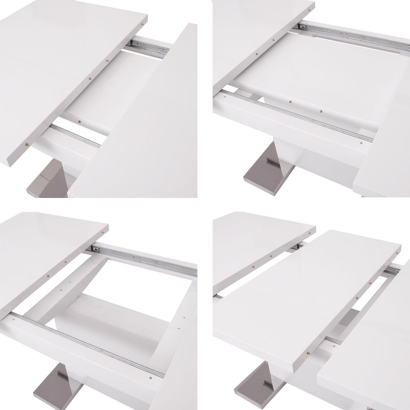 Esstisch mcw b49 esszimmertisch tisch ausziehbar for Esszimmertisch 120 ausziehbar