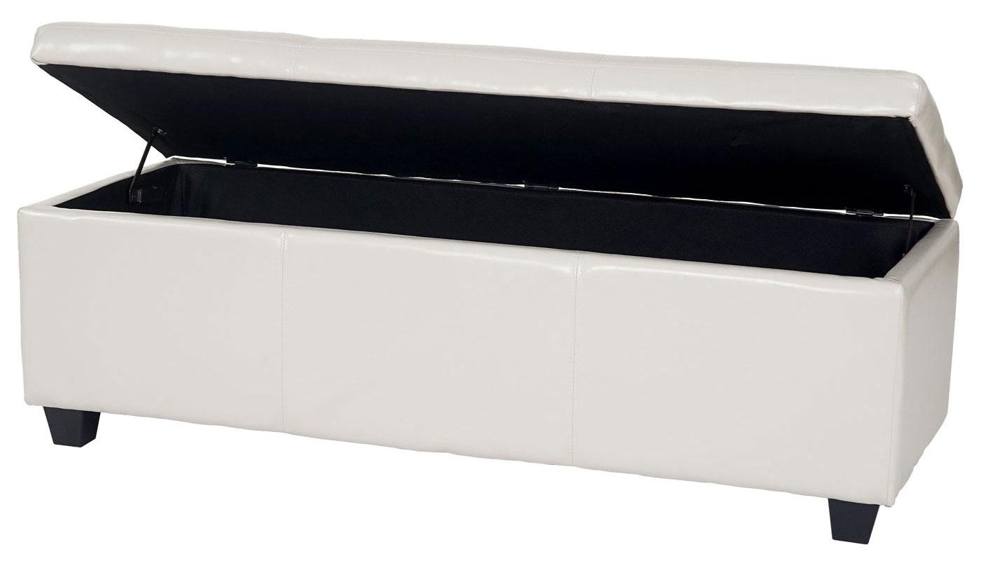 Panca Contenitore Ecopelle : Panca contenitore manta t ecopelle cm colore a scelta