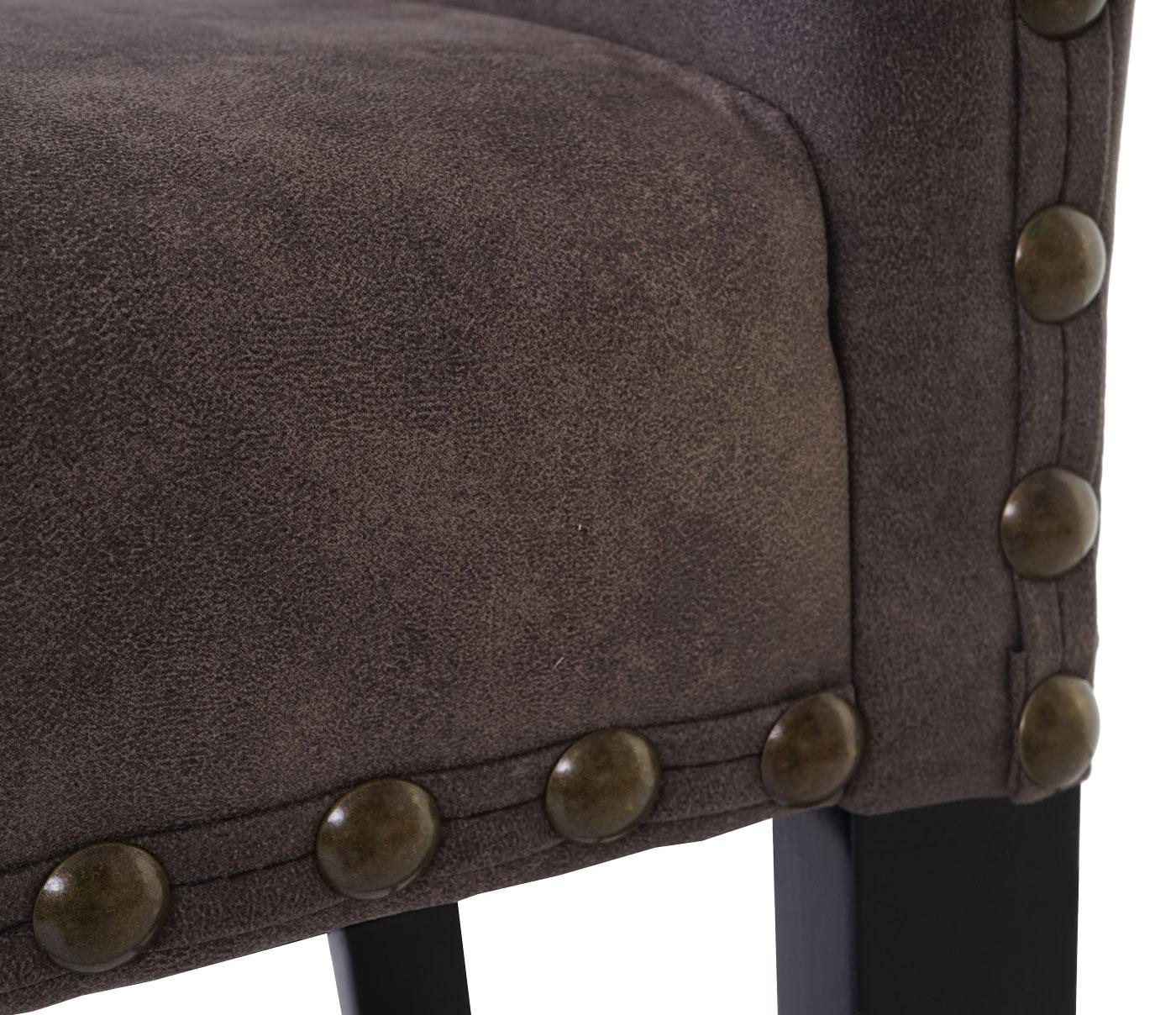 2x tresenhocker mcw a93 barhocker chesterfield textil for Barhocker chesterfield