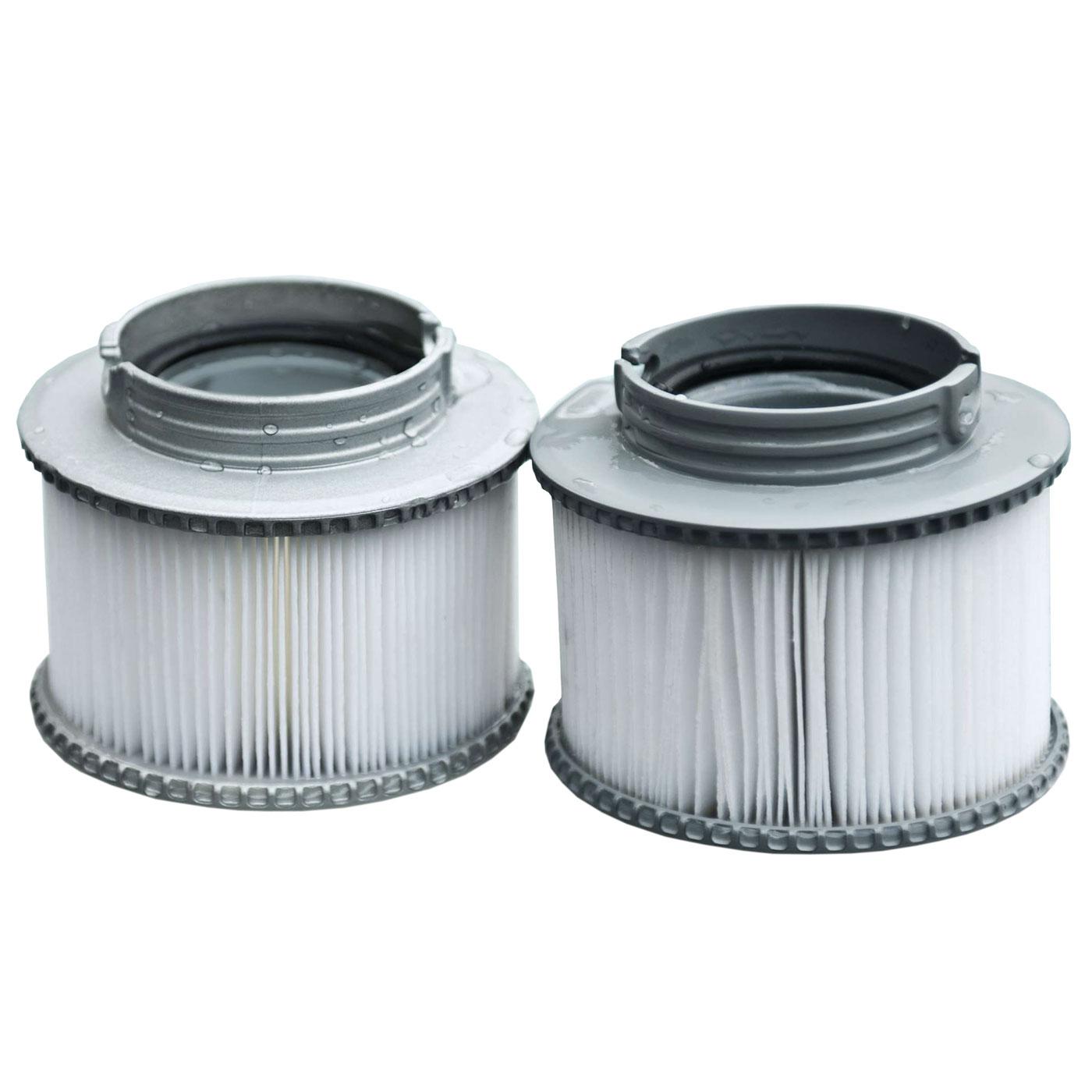 2x wasserfilter f r whirlpool mspa hwc a62 ersatzfilter filterkartusche zubeh r. Black Bedroom Furniture Sets. Home Design Ideas