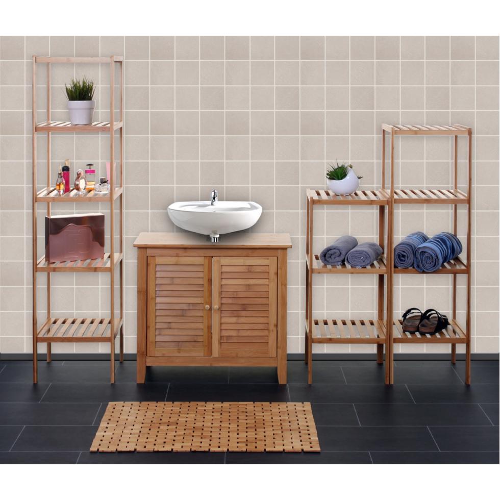 badregal hwc b18 badset badm bel badezimmer badschrank. Black Bedroom Furniture Sets. Home Design Ideas