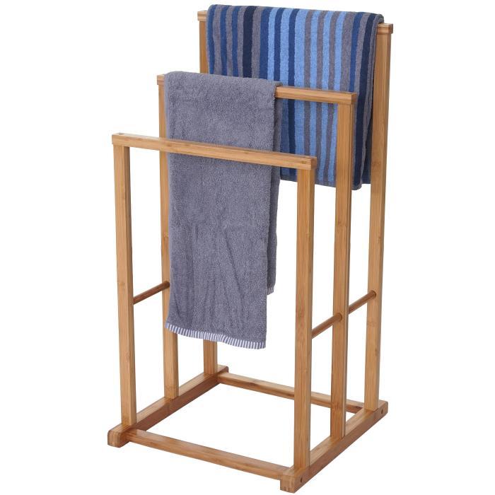 Handtuchhalter HWC-B18, Badezimmer Handtuchständer freistehend ...