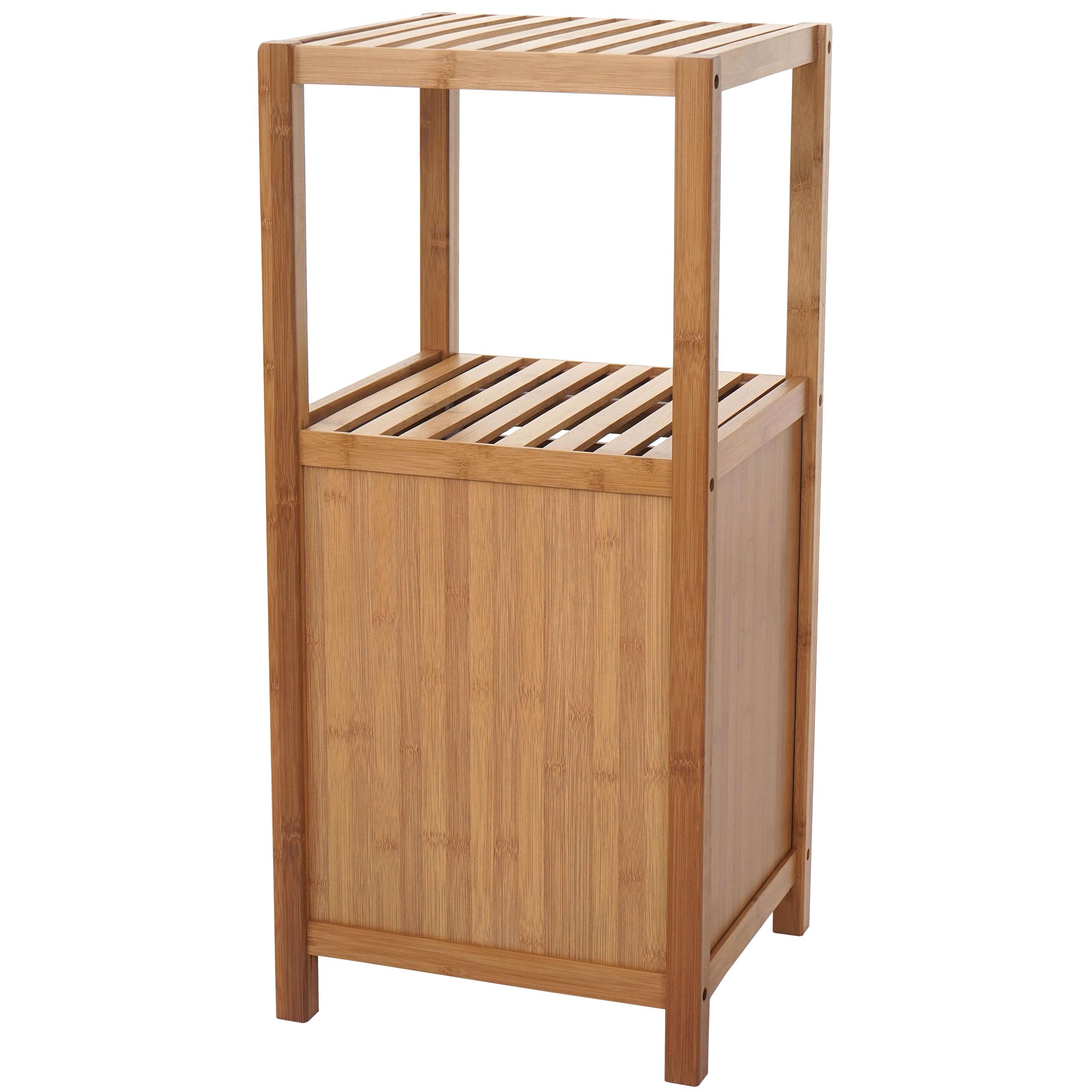 badregal hwc b18 badezimmer badschrank standregal mit t r. Black Bedroom Furniture Sets. Home Design Ideas