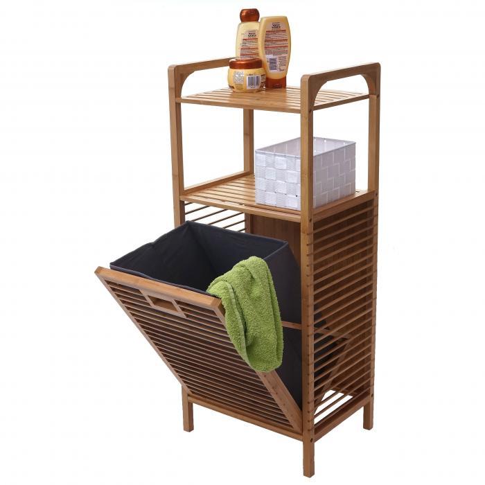 Regal Mit Waschekorb Hwc B94 Waschebox Waschesammler Waschebehalter